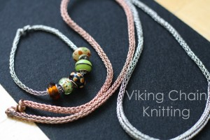 viking chain knitting 1